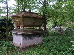 Cozens family tomb, Rosary Cemetery, Norwich. Picture: Siofra Connor